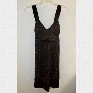 Taboo | shimmery polka dot dress